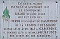 Dijon plaque commémorative Claude Jules BILLOD.jpg