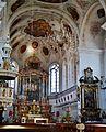 Dillingen Basilika St. Peter Innen Chor 1.jpg