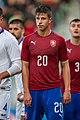 Dimitris Nikolaou & Adam Hložek, U21 CZE-GRE 2019-10-10 (cropped).jpg