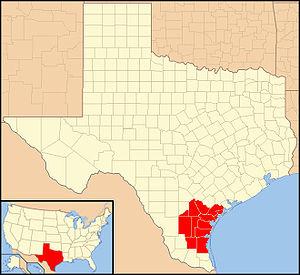 Roman Catholic Diocese of Corpus Christi - Image: Diocese of Corpus Christi in Texas