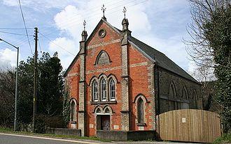 St Blazey - Image: Disused Bible Christian Chapel geograph.org.uk 143541