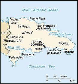 Repubblica Dominicana - Mappa
