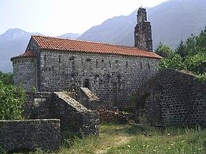 Jelena Balšić - Donji Brčeli Monastery in Bar was founded by Jelena Balšić
