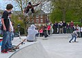Dorchester Skate Park Flying High - geograph.org.uk - 1270750.jpg
