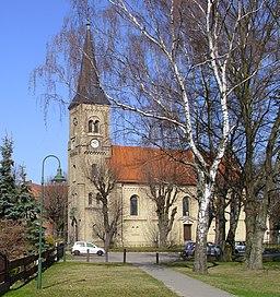Church of the village Mühlenbeck-Hauptstraße