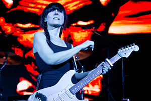 Dover (band) - Cristina Llanos during the Dover came to me tour in 2014.