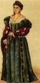 Dräkt, Veneziansk adelsdam, Nordisk familjebok.png