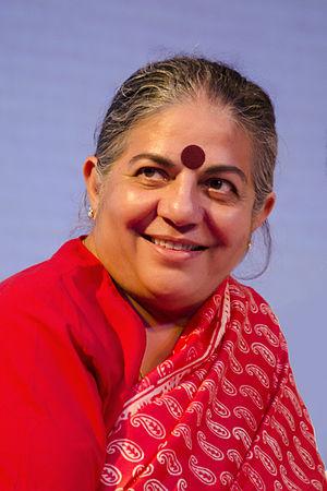 Vandana Shiva - Shiva in 2014