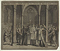 Dr Taylor rebuking a Popish Priest who was about to say Mass in Hadley Church (Thomas Taylor) from NPG.jpg
