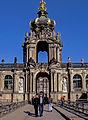 Dresden, Zwinger Kronentor (9666190638).jpg