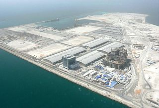 Dubai Maritime City Multipurpose maritime zone in Dubai