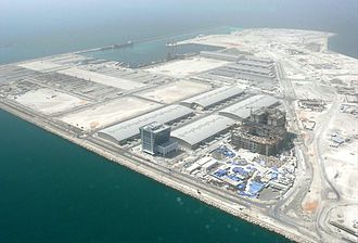 Dubai Maritime City - Dubai Maritime City on 8 May 2008