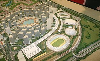 Urban design - Dubai Sports City in Dubai, United Arab Emirates