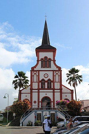 Ducos - The church of Our Lady of the Nativity, in Ducos