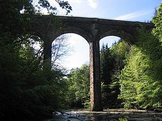 Chatelherault Country Park - The Dukes Bridge crossing the Avon Water