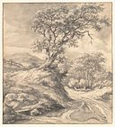 Dune Landscape with Oak Tree MET DP152104.jpg