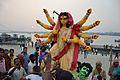 Durga Idol Immersion Procession - Baja Kadamtala Ghat - Kolkata 2015-10-22 6590.JPG