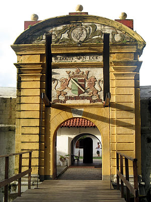 Star fort, Matara - Image: Dutch Star Fort, Matara 0689