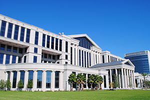 Judiciary of Florida - The Duval County Courthouse housing the Duval County and Fourth Judicial Circuit Courts.