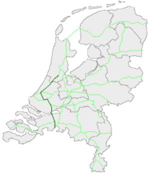 European route E19 in the Netherlands - Image: E19Nederland