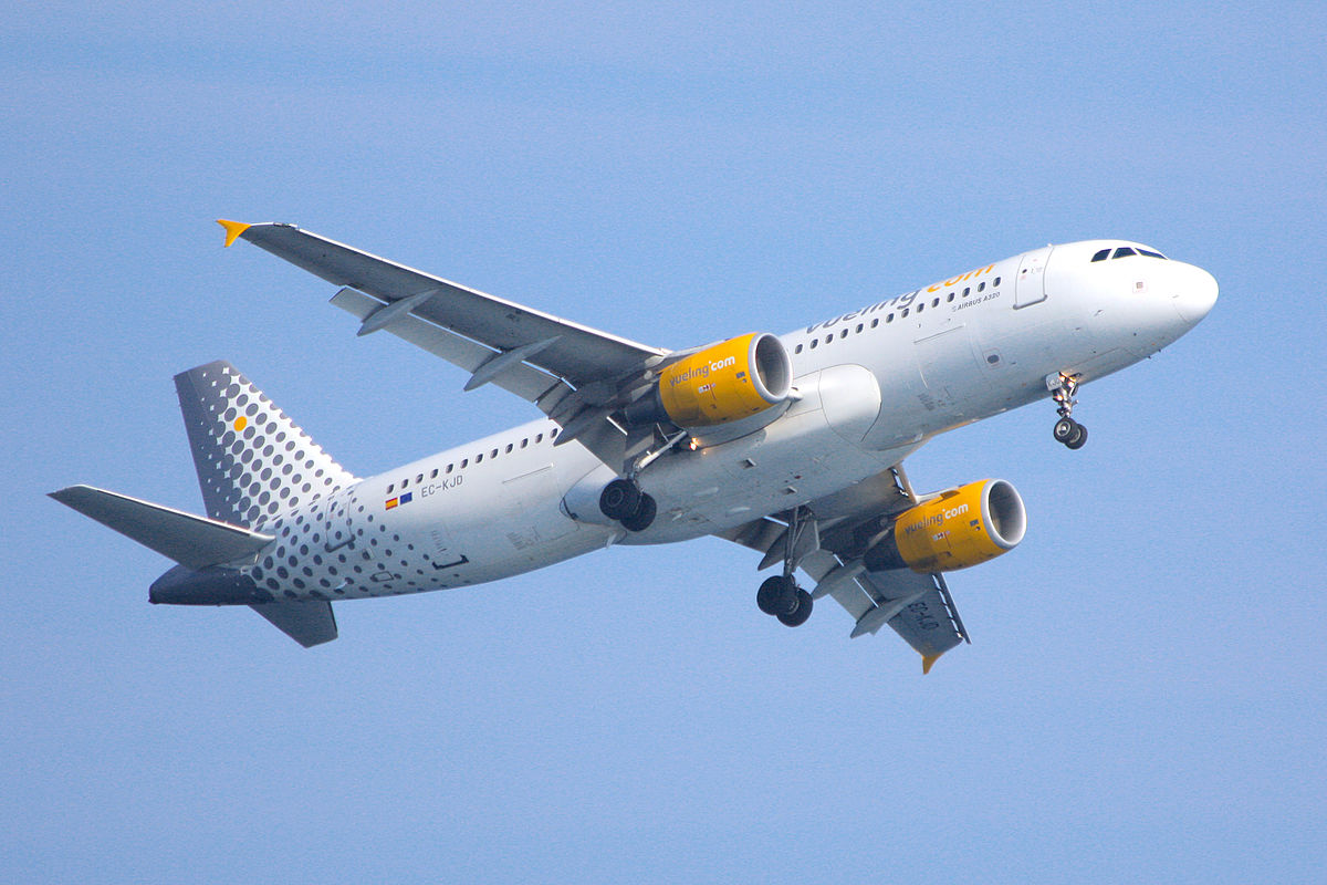 Vueling airlines reisef hrer auf wikivoyage for Ryanair barcelona paris orly