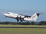 EI-RJY Cityjet British Aerospace Avro RJ85 takeoff from Schiphol (AMS - EHAM), The Netherlands pic2.JPG