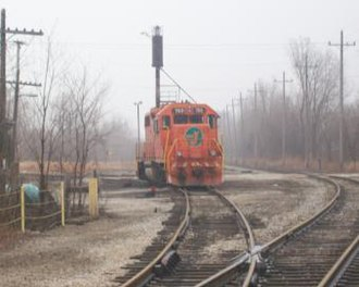 Elgin, Joliet and Eastern Railway - Image: EJ&E 703