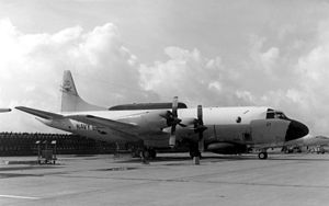 VQ-2 - EP-3E Aries of VQ-2 parked in 1971