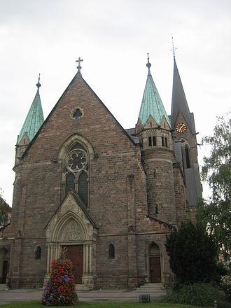 Schiltigheim - Catholic church Sainte Famille in Schiltigheim