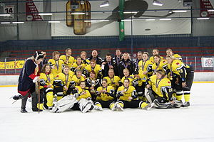 IIHF European Women's Champions Cup - Champion of the 2010 IIHF European Women's Champions Cup, HK Tornado, Moscow Region, in Russia
