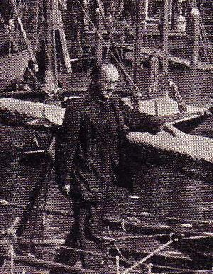 Edward Keble Chatterton - Keble Chatterton in Dordrecht, Holland – 1910