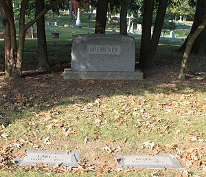 Earl C. Michener - Michener grave