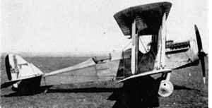Airco DH.4 - An early production DH.4
