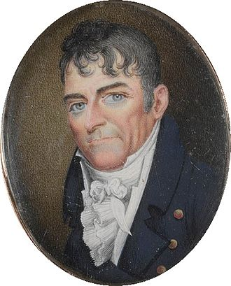 Whaling in Australia - American born Captain Eber Bunker (1761-1836) commanded one of the first British vessels to whale off Australia. He later settled in New South Wales.