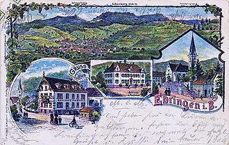 Ebringen - Image: Ebringen breisgau 1900