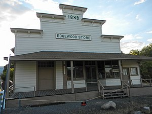 National Register of Historic Places listings in Siskiyou County, California - Image: Edgewood Store