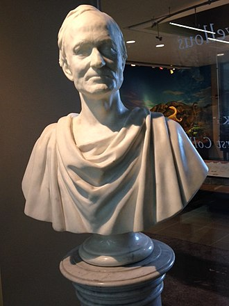 Edward Hitchcock - A bust of Hitchcock at Amherst College.