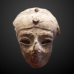 Egyptian-style mask-N 3319