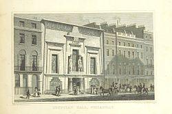 Salón egipcio, Piccadilly - Shepherd, Mejoras metropolitanas (1828), p295.jpg