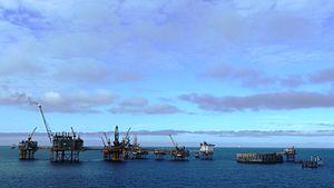 Ekofisk oil field - Image: Ekofisk complex