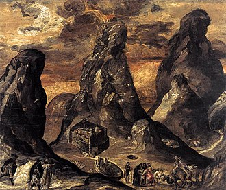 Law of Moses - El Greco's View of Mount Sinai