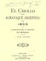 El criollo. Almanaque argentino para 1896 - Manuel Garcia.pdf