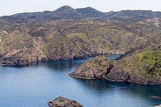 Cap de Creus - Another view of El Golfet from Cap Gros, Cap de Creus.