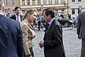 Elbe Day April 25, 2015 in Torgau Mrs. Emerson greets Russian Ambassador Wladimir M. Grinin in Torgau (17100561579).jpg