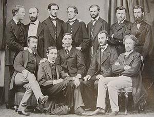 École Nationale des Chartes - The students of 1857