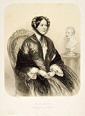 Prinzessin Elisabeth Alexandrine von Württemberg, um 1840 (Quelle: Wikimedia)