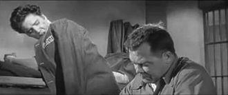 Jailhouse Rock (film) - Image: Elvis Mickey Shaughnessy Jailhouse Rock 1957