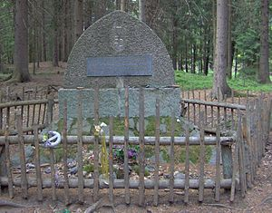 Emmy Destinn - Memorial of Emmy Destinn near Třeboň