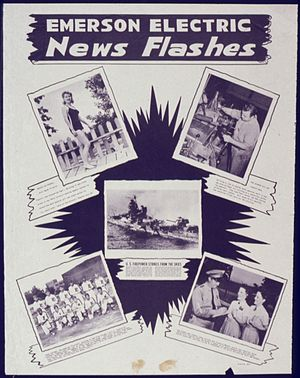 Emerson Electric - Emerson Electric News Flashes, WWII