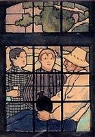 Emile Bernard 1887 La conversation.jpg